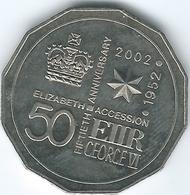 Australia - 2002 - Elizabeth II Golden Jubilee - KM645 - Decimal Coinage (1966-...)