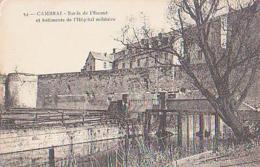 Nord        297        Cambrai.Bords De L'Escaut Et Bâtiment De L'Hôpital Militaire - Cambrai