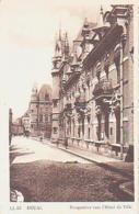 Nord        304        Douai.Perspective Vers L'Hôtel De Ville - Douai