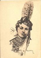 (PONT L ABBE )( 29 FINISTERE )( FOLKLORE )( COSTUMES )( FEMME ) ( ILLUSTRATEUR )( E . GUILLAUME) TYPE DE PONT L ABBE - Pont L'Abbe