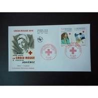 FDC - Croix Rouge 2010 (env 1 Sur 2), Oblit 5/11/2010 Paris - 2010-....