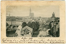 CPA 67 - Strasbourg Strassburg Totalansicht Panorama Vers 1901 - Strasbourg