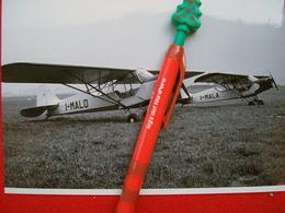 FOTOGRAFIA  AEREO  PIPER J 3C 65    I-MALO  I-MALA - Aviazione