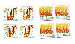 MNH STAMPS Pakistan - The 39th Anniversary Of Independence  -1986 - Pakistan