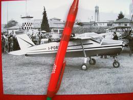 FOTOGRAFIA  AEREO  BOLKOW 208 JUNIOR    I-PORO - Aviazione