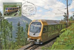 Austria 2019 - Mariazell Railway – Himmelstreppe Maximum Card - 1945-.... 2. Republik