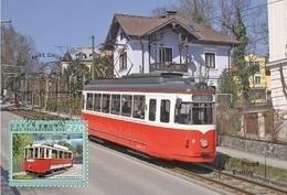 Austria 2019 - 125 Years Of The Gmunden Tramway Maximum Card - 1945-.... 2. Republik