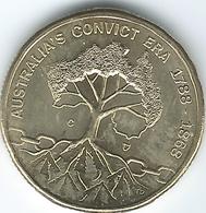 Australia - Elizabeth II - 2018 - Dollar - Convicts Era (Canberra Mint) - Decimal Coinage (1966-...)