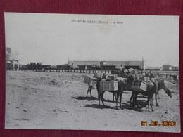 CPA - Maroc - Outat-El-Haadj - La Gare - Maroc