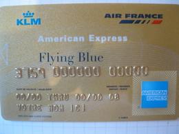 Télécarte Air France American Express Or - Phonecards