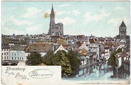 CPA 67 - Strasbourg Strassburg Panorama Vers 1911 - Strasbourg