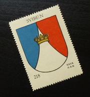 Croatia C1935 Yugoslavia Coffee Hag Poster Stamp Cinderella Coat Of Arm Sviben Crown B11 - Verzamelingen & Reeksen