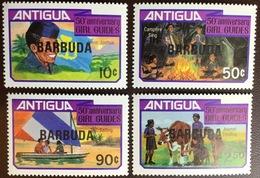 Barbuda 1981 Girl Guides MNH - Antigua And Barbuda (1981-...)