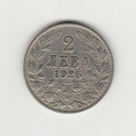 2 LEVA 1925 BORIS III POISSY - Bulgarije