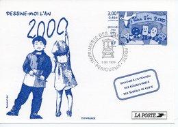 LA POSTE SOUVENIR - DESSINE MOI L'AN 2000 - Post