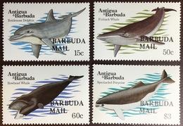 Barbuda 1983 Whales MNH - Balene