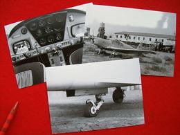 FOTOGRAFIE  AEREO SOKOL L 40 META I-    A VENEZIA LIDO 1949 - Aviation