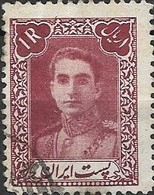 1942 Mohammed Riza Pahlavi - 1r - Purple FU - Irán