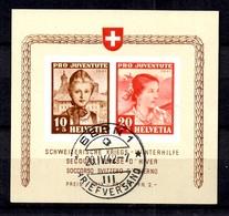Suisse Bloc-feuillet YT N° 6 Oblitéré. B/TB. A Saisir! - Blocks & Sheetlets & Panes