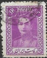 1942 Mohammed Riza Pahlavi - 3r - Purple FU - Irán
