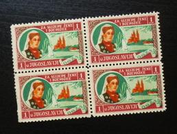 Yugoslavia C1937 Slovenia Croatia Charity Stamps (NG) For Blind Girls B4 - Verzamelingen & Reeksen