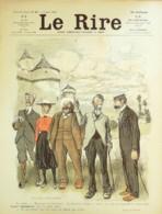 """REVUE """"LE RIRE""""-1903- 27-HUARD,BURRET,IRIBE,AVELOT,JEANNIOT,FAIVRE,MOUFI - Libros, Revistas, Cómics"""