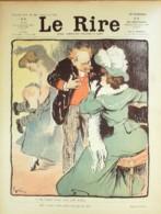 """REVUE """"LE RIRE""""-1903- 44-GRUN,AVELOT,GUYDO,BAC,AVELOT,FLORES,DELAW - Libros, Revistas, Cómics"""