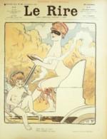 """REVUE """"LE RIRE""""-1903- 46-""""L'AUTOMOBILE"""" ,CHARLY,BURRET,VILLEMOT,MEUNIER,AVELOT - Livres, BD, Revues"""