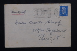 ALLEMAGNE - Enveloppe Commerciale De Berlin Pour Paris En 1931, Affranchissement Et Oblitération Plaisants - L 61928 - Storia Postale