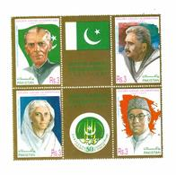 MNH STAMPS Pakistan - Fauna   -1982 - Pakistan
