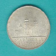 Austria - 25 Schilling - 1957 - Mariazell Basilica - KM2883 - Austria