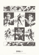 785.  GILLON & FOREST   NAUFRAGES DU TEMPS - Bookplates (Ex Libris)