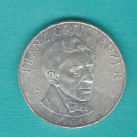 Austria - 25 Schilling - 1964 - Franz Grillparzer - KM2895 - Autriche