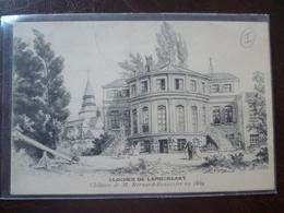LAMBERSART  Château De Mr Bernard -beaussier En 1889 - Lambersart