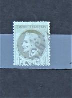 05 - 20 // France N° 25 Beau - Napoléon 1c Olive Oblitération GC 4526 Villers Sur Mer - Calvados - 1863-1870 Napoléon III Lauré