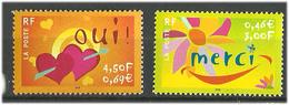 France 2001 Greeting Stamps, Mi 3519-3520 MNH(**) - France