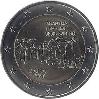 2E110 - MALTE - 2 Euros Commémorative - Ggantija 2016 - Malta