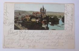 Gruß Aus Limburg 1898, Lautz & Jsenbeck Darmstadt ♥ (72749) - Briefmarken