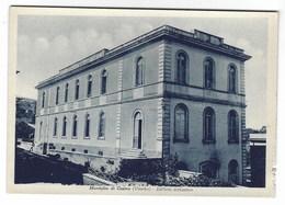 CL040 - MONTALTO DI CASTRO VITERBO EDIFICIO SCOLASTICO 1940 CIRCA - Other Cities