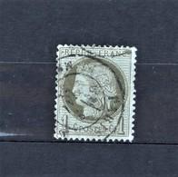 05 - 20 // France N° 50 - Cérès 1c Olive - Beau - Cote : 20 Euros - 1871-1875 Ceres