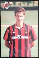 Daniele Massaro MILAN Football Player Carte Size Carte Postale - Fútbol