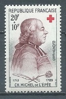 France YT N°1226 Croix-Rouge 1959 Ch. Michel De L'Epée Neuf ** - Nuevos
