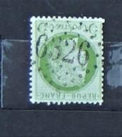 05 - 20 // France N° 53 - Cérès 5c Vert - Beau - Oblitération GC 6326 - Marseille Place Centrale - 1871-1875 Ceres