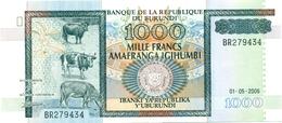 1.000 FRANCS 1ER MAI 2006 - Burundi