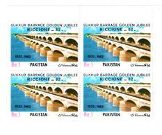 "MNH STAMPS Pakistan - International Stamp Exhibition ""RICCIONE-ITLAY   -1982 - Pakistan"