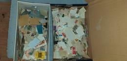Lot De 2 Boitesa Chaussures Pleine Timbre A Trier Port Offert* - Postzegels