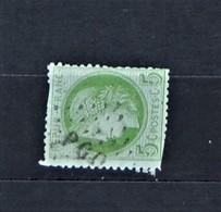 05 - 20 // France N° 53 - Cérès 5c Vert - Beau - Oblitération Ambulant - 1871-1875 Ceres