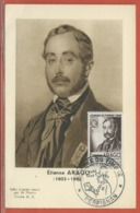 JOURNEE DU TIMBRE FRANCE CARTE MAXIMUM DE PERPIGNAN DE 1948 - Dag Van De Postzegel
