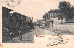CPA Andrinople - Zindan Alti - Turquia