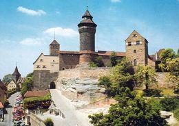 1 AK Germany / Bayern * Nürnberg - Burgaufgang Zum Himmelstor Mit Dem Sinwellturm * - Nuernberg